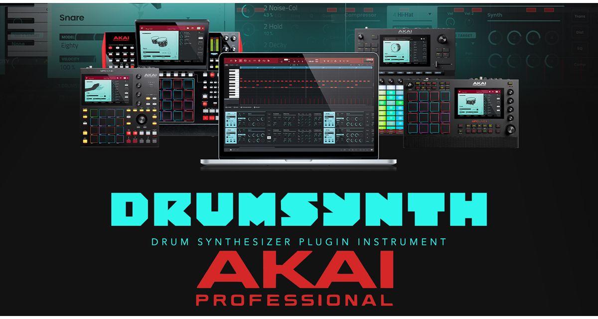 Nuovo DrumSynth gratis con Akai MPC + Force