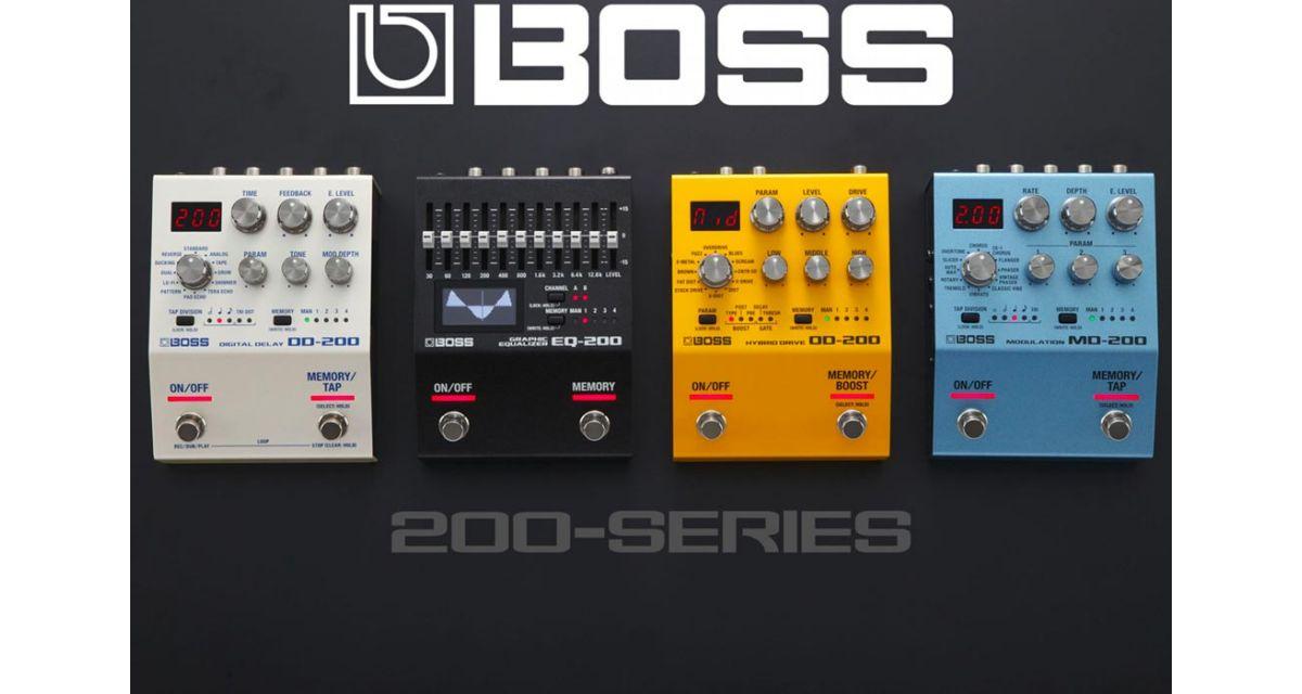 Boss Serie 200 : Tecnologia Digitale Compatta