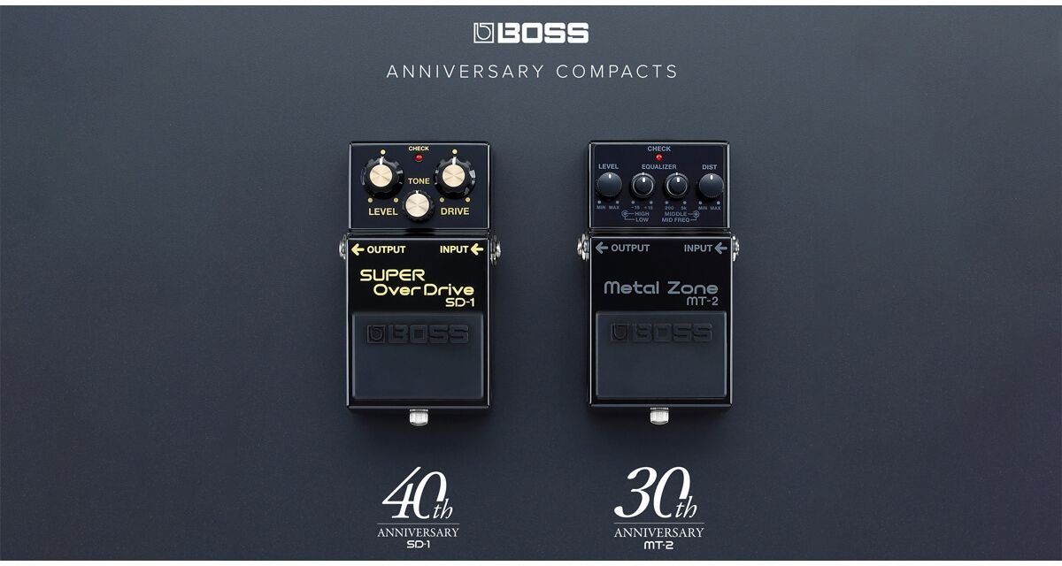 Boss Anniversary SD-1 / MT-2 - Limited Edition