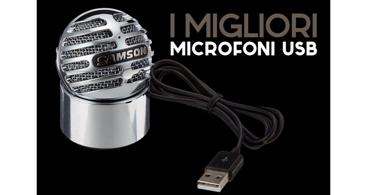 Microfoni per pc: i migliori microfoni Usb per home recording e video conferenze