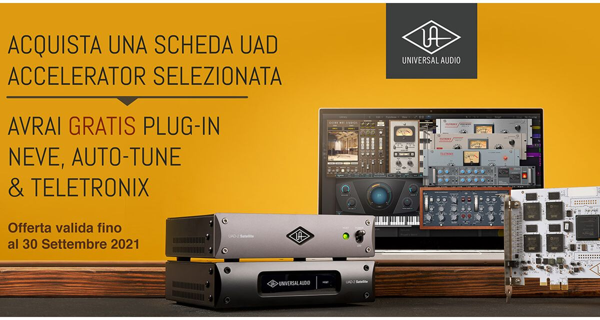 Universal Audio UAD Satellite Promo