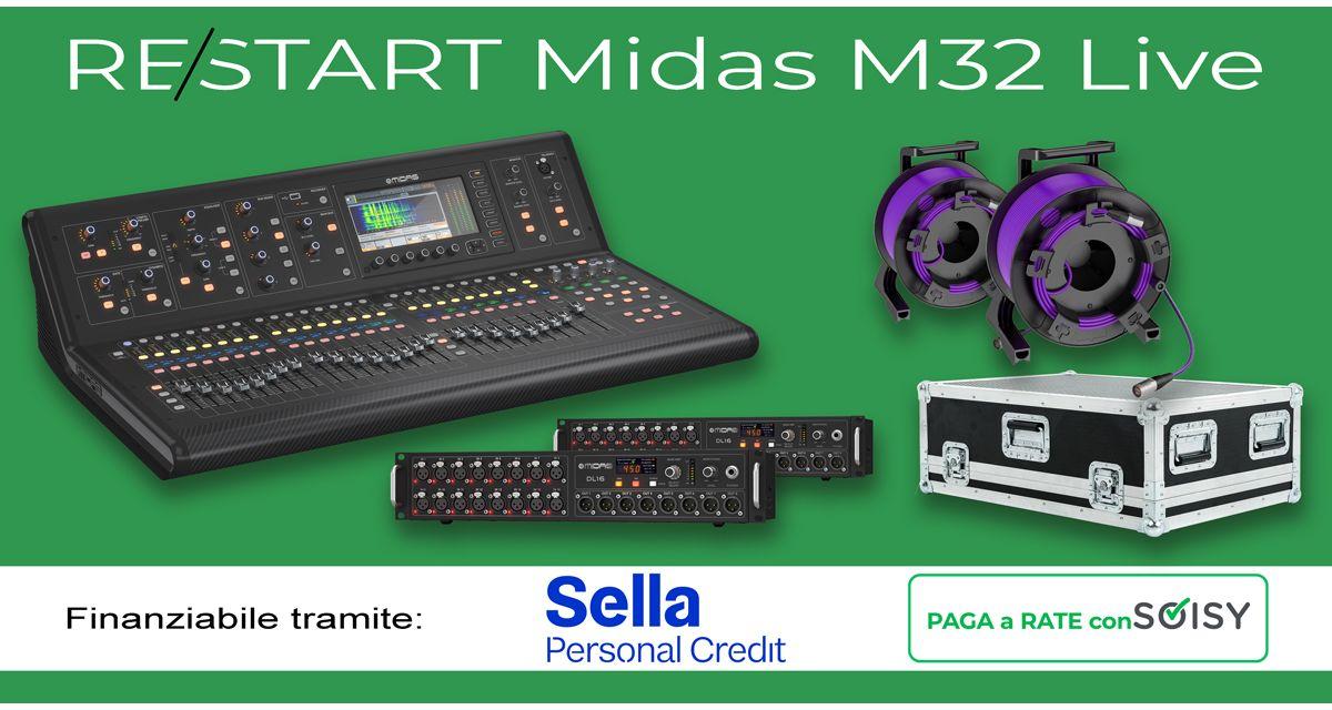 Re/start con Midas M32 Live