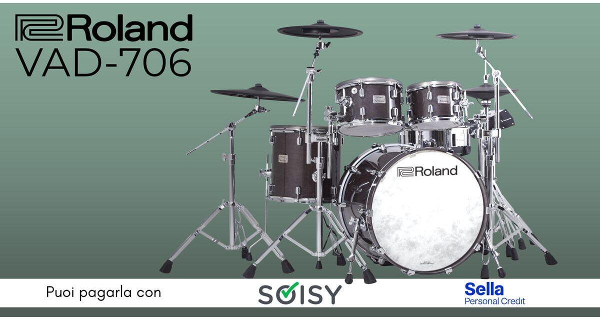 Roland VAD706 - La rivoluzione nel mondo della batteria elettronica