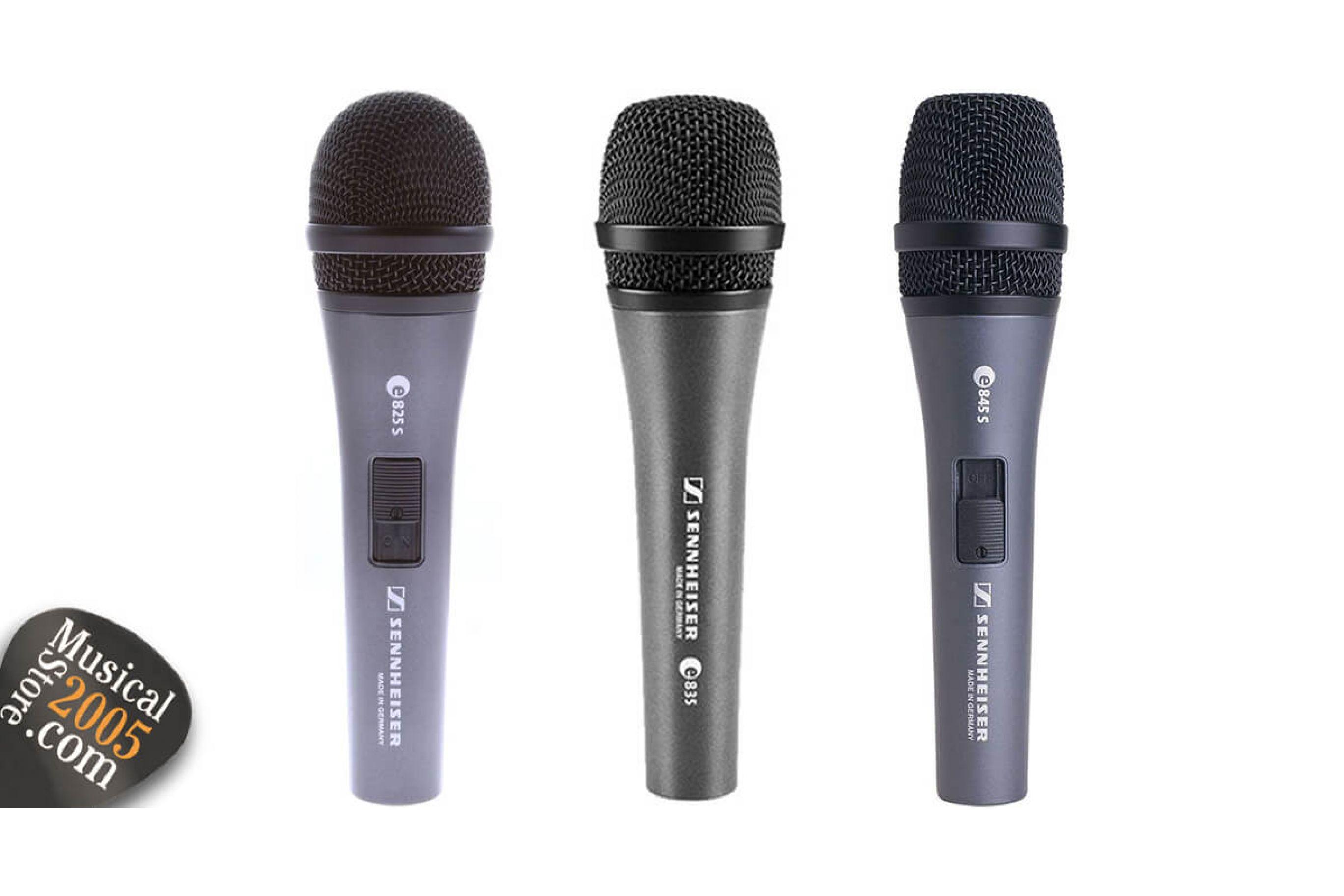 Microfoni per canto Sennheiser: 3 modelli a confronto
