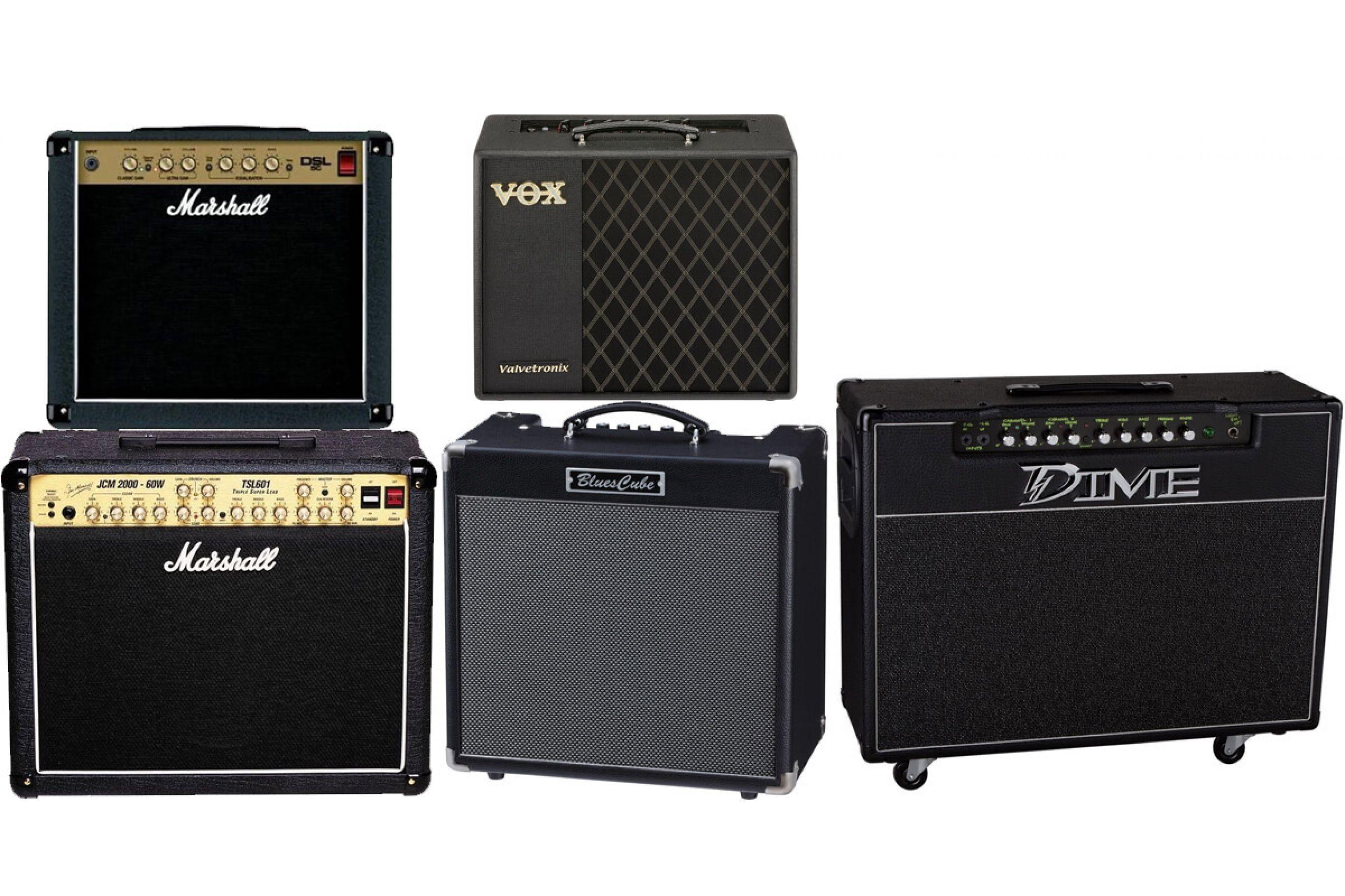 I migliori amplificatori per chitarra elettrica musical store 2005