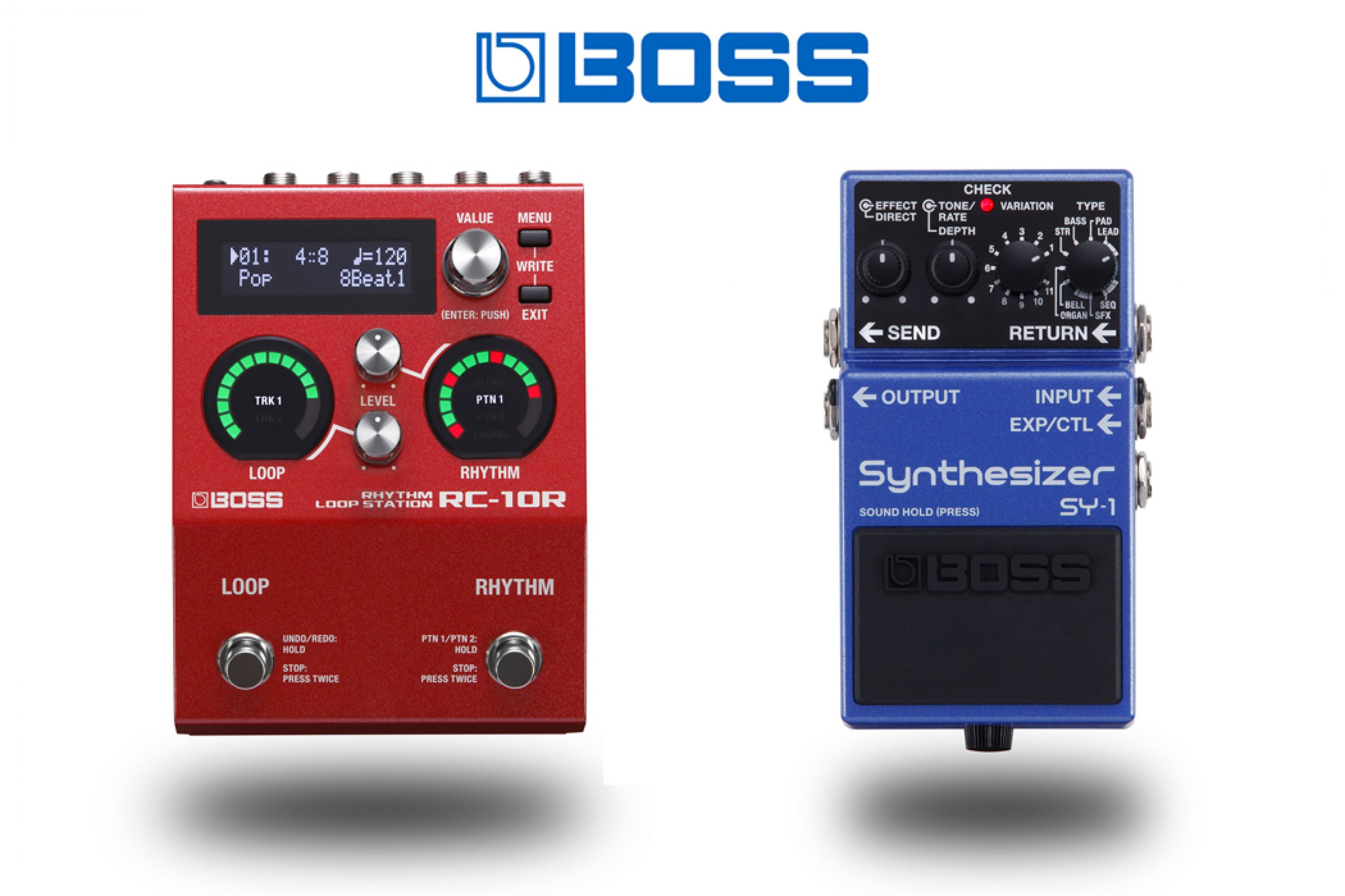 Boss Sintetizzatore SY-1 / Boss Rhythm Loop Station RC-10R new