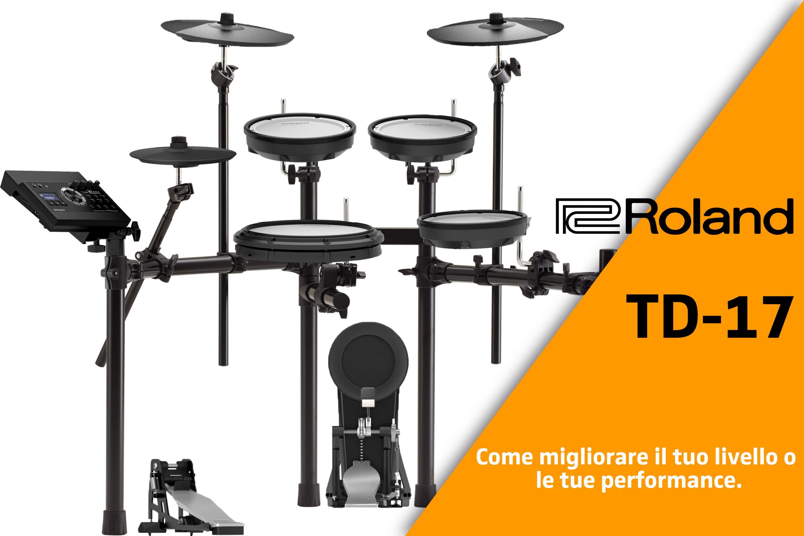 Roland TD-17:Prezzo, Recensioni e Opinioni