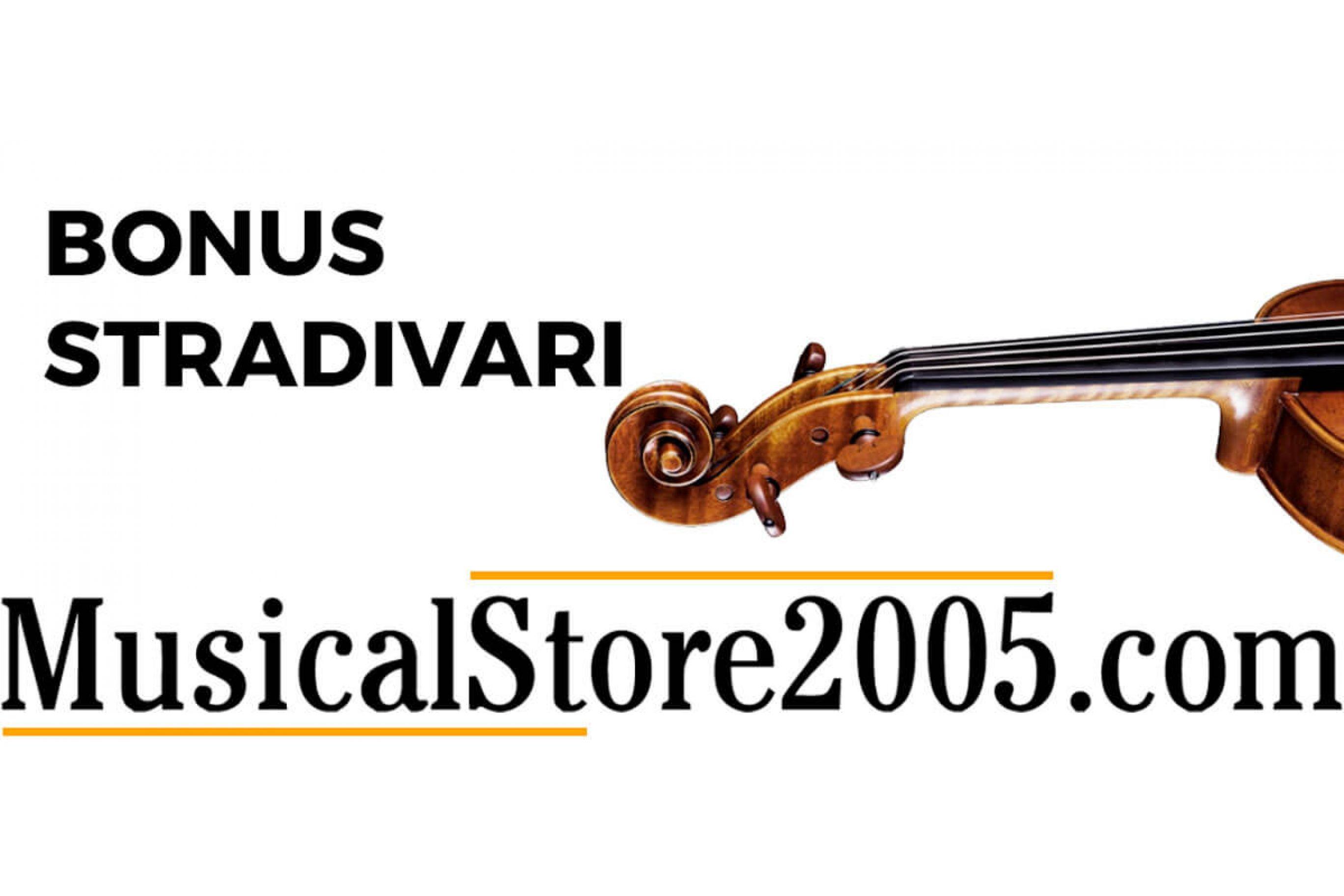 Bonus Stradivari 2018 - Strumenti Musicali