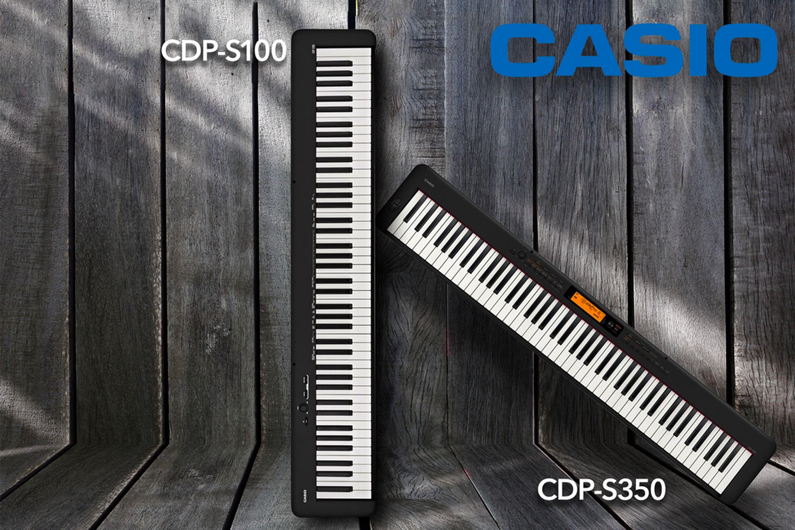 Casio CDP-S100 e CDP-S350 | Nuovi Pianoforti digitali