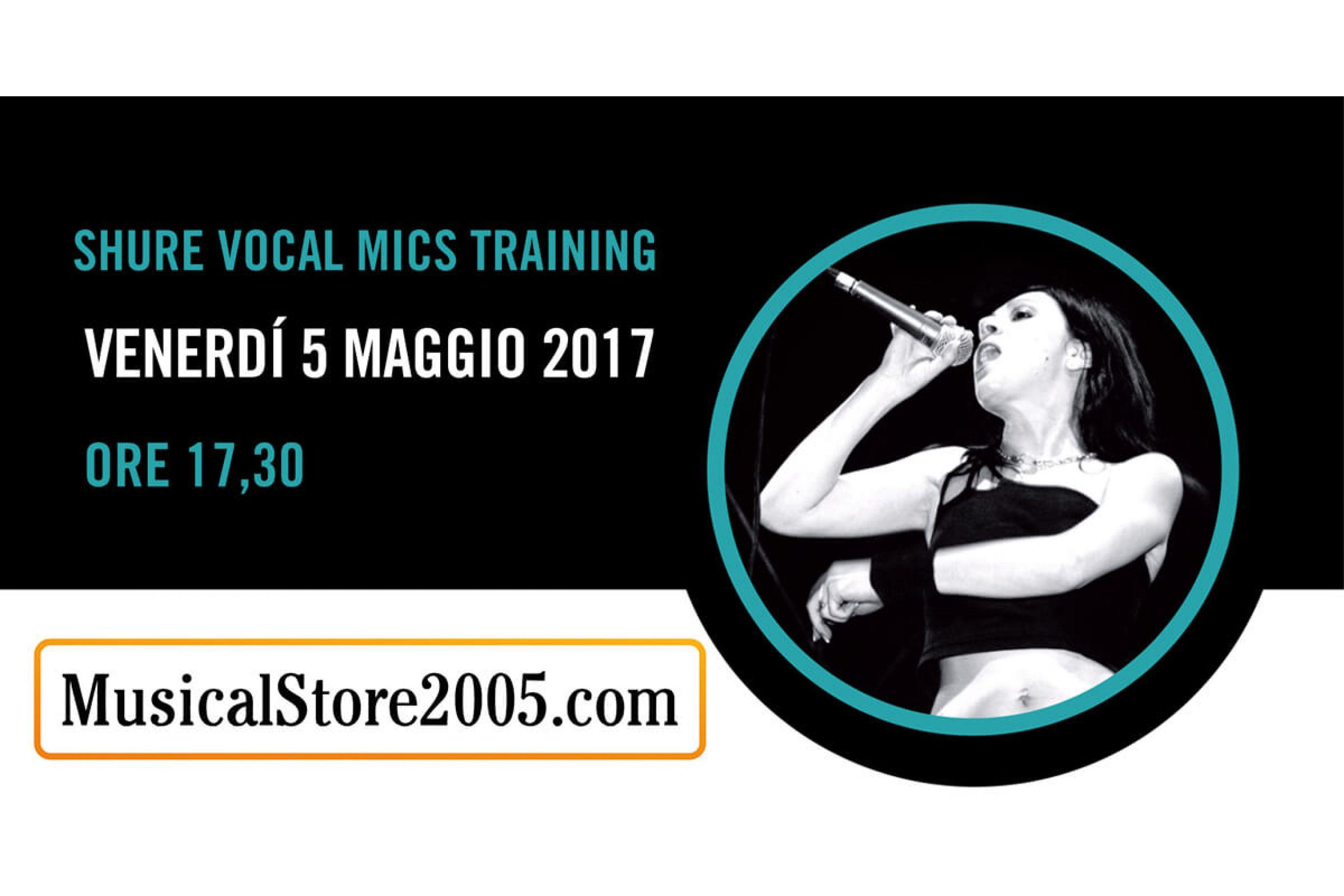 Shure Vocal Mics Training 2017 – Tappa MusicalStore2005