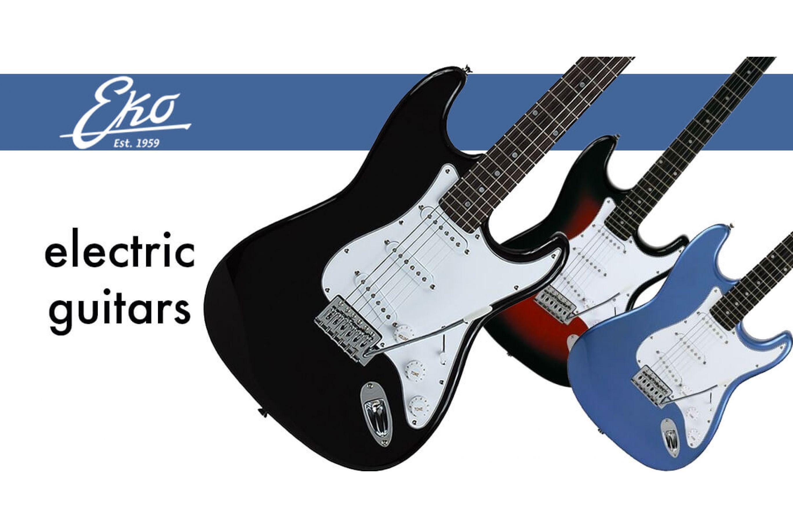 Chitarra Elettrica EKO S300 Stratocaster Style