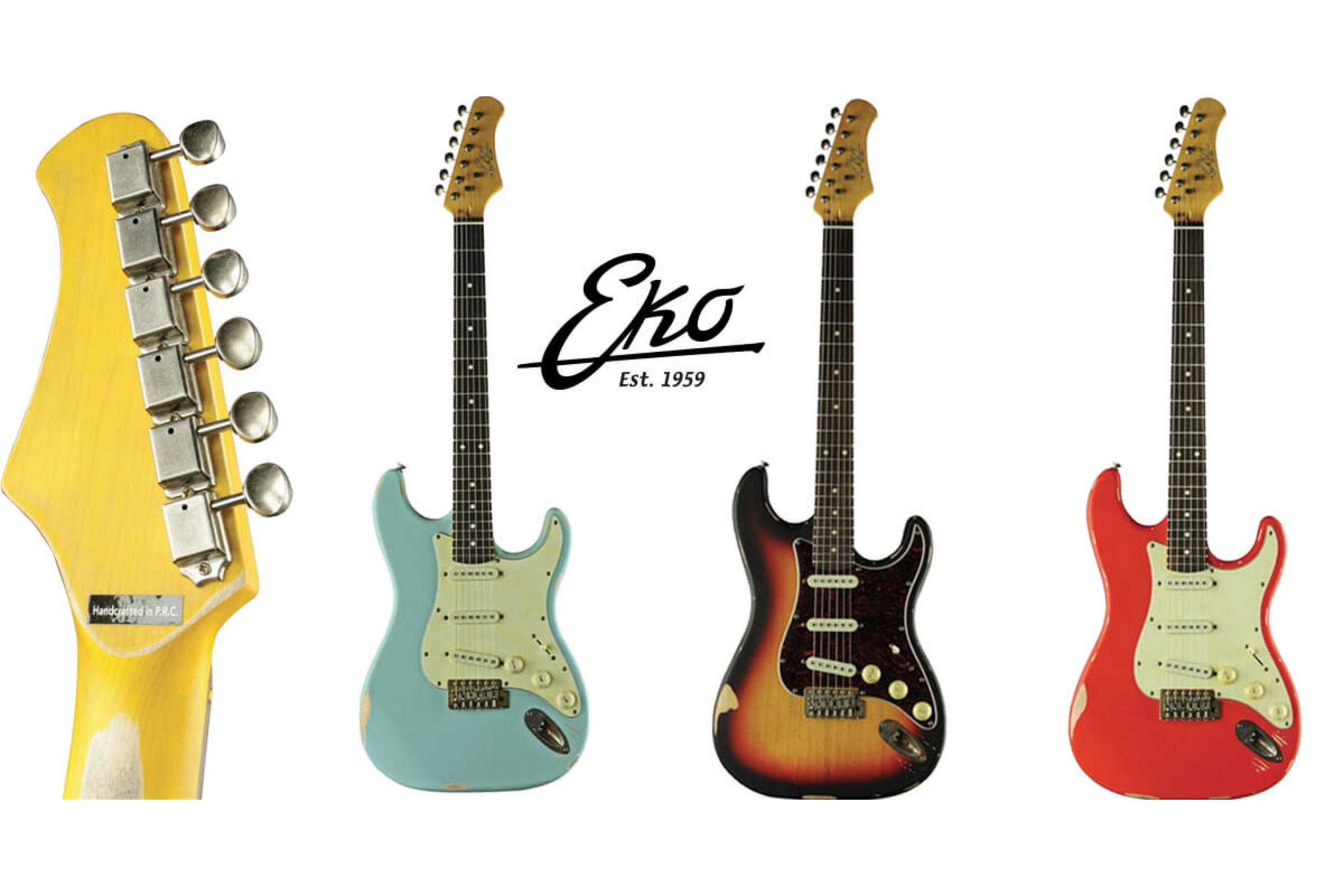 Le Nuove Chitarre Elettriche: Eko S300 Relic