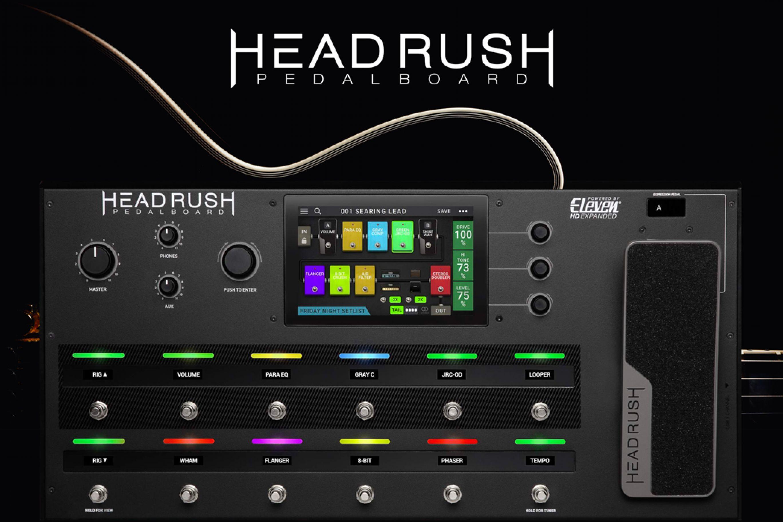 Headrush Pedalboard: Il suono perfetto con un semplice tocco