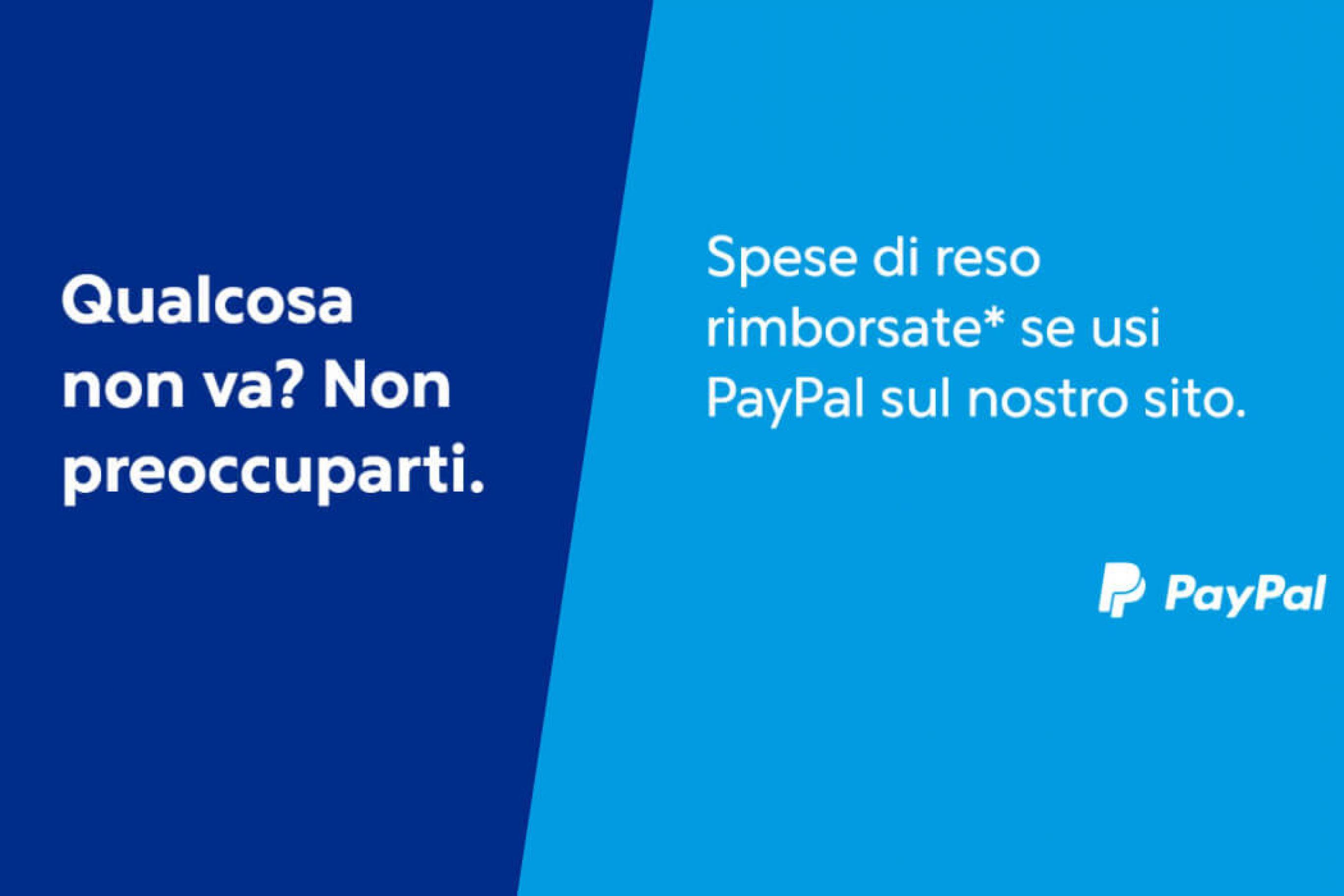 Rimborso su reso Paypal
