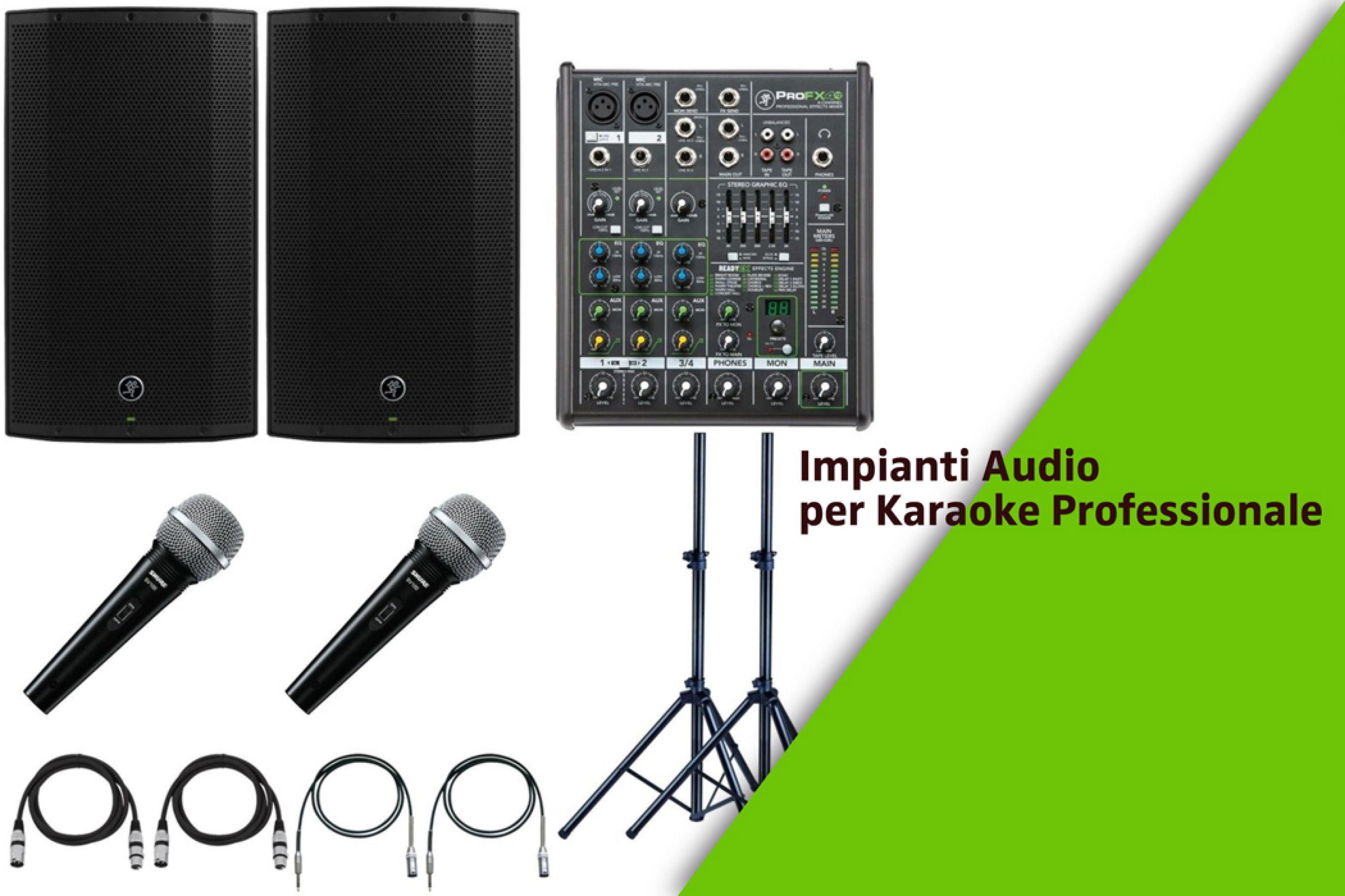 Impianto Karaoke Professionale