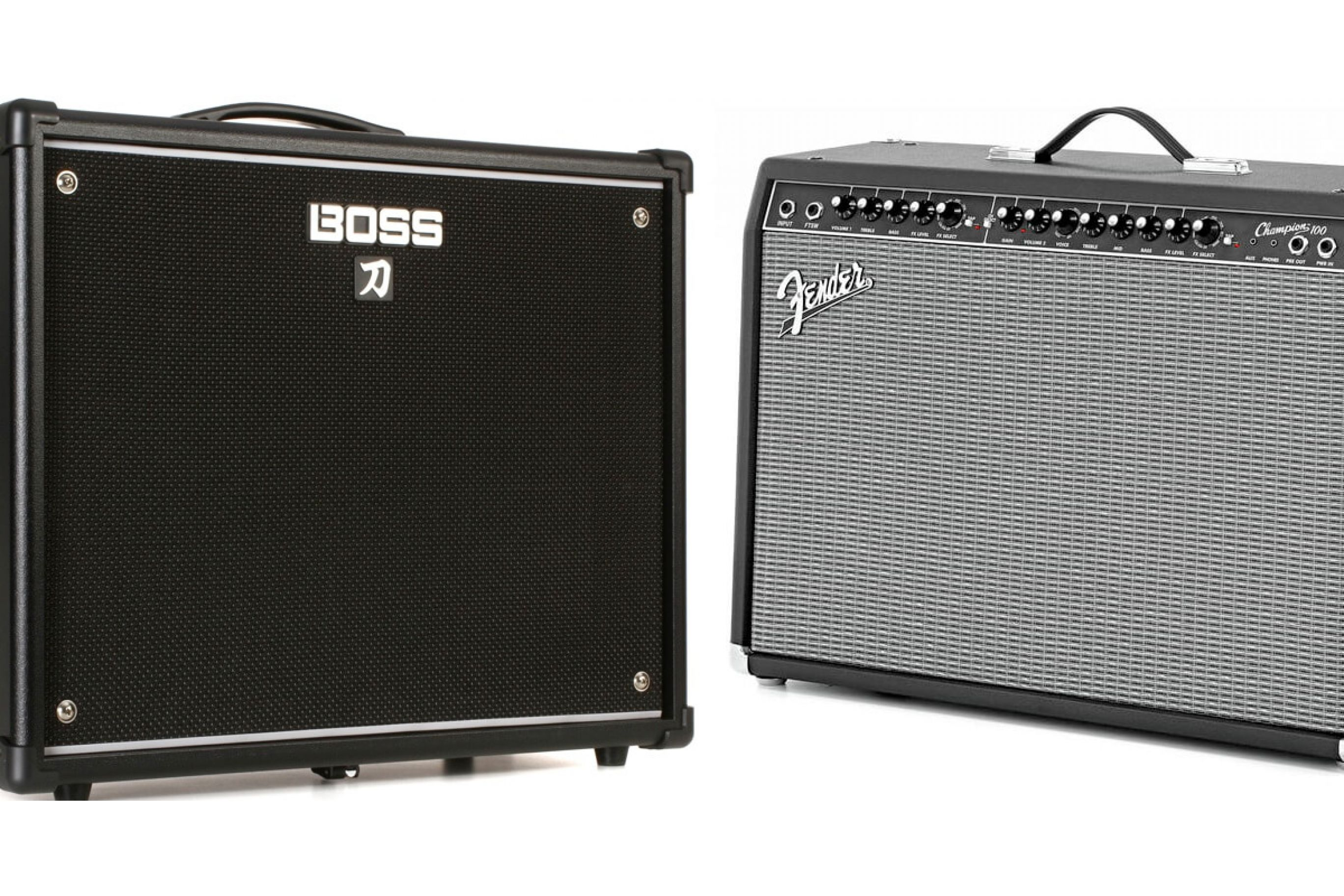 Boss Katana 100 vs Fender Champion 100
