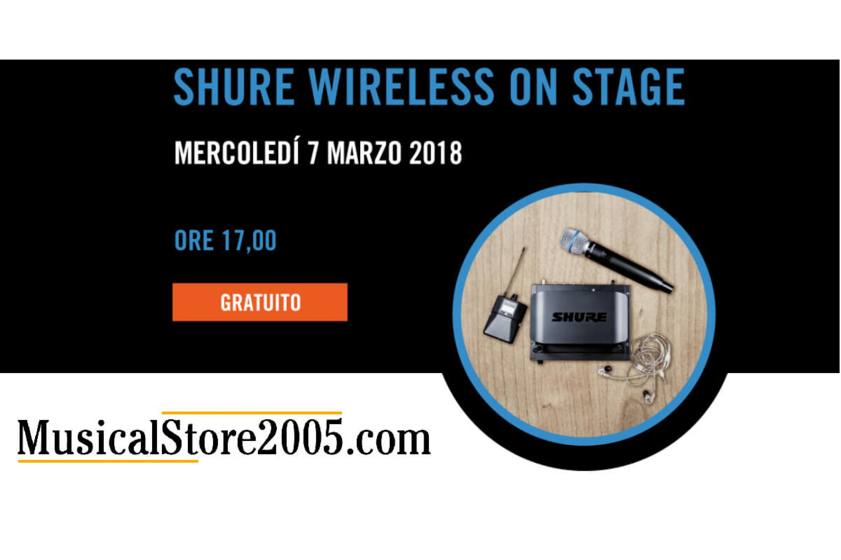 Shure Wireless On Stage Training.