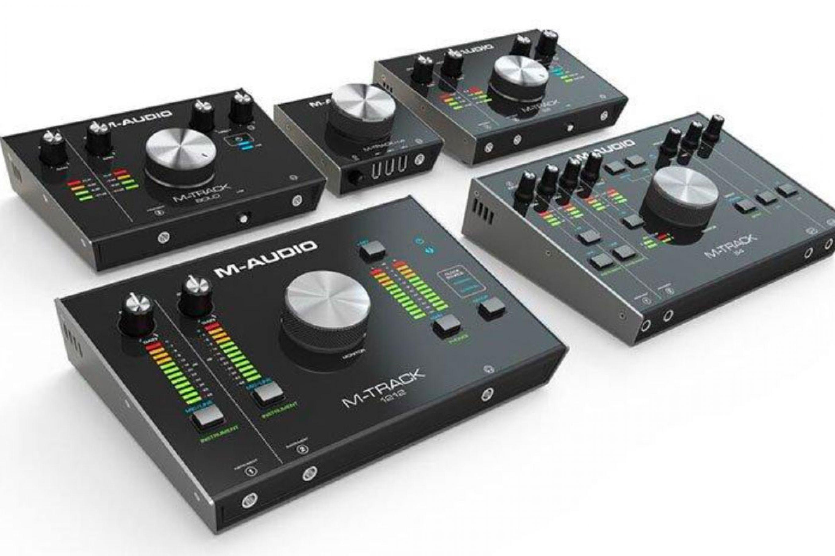 Schede Audio M-Audio Interfaces per PC M-Track