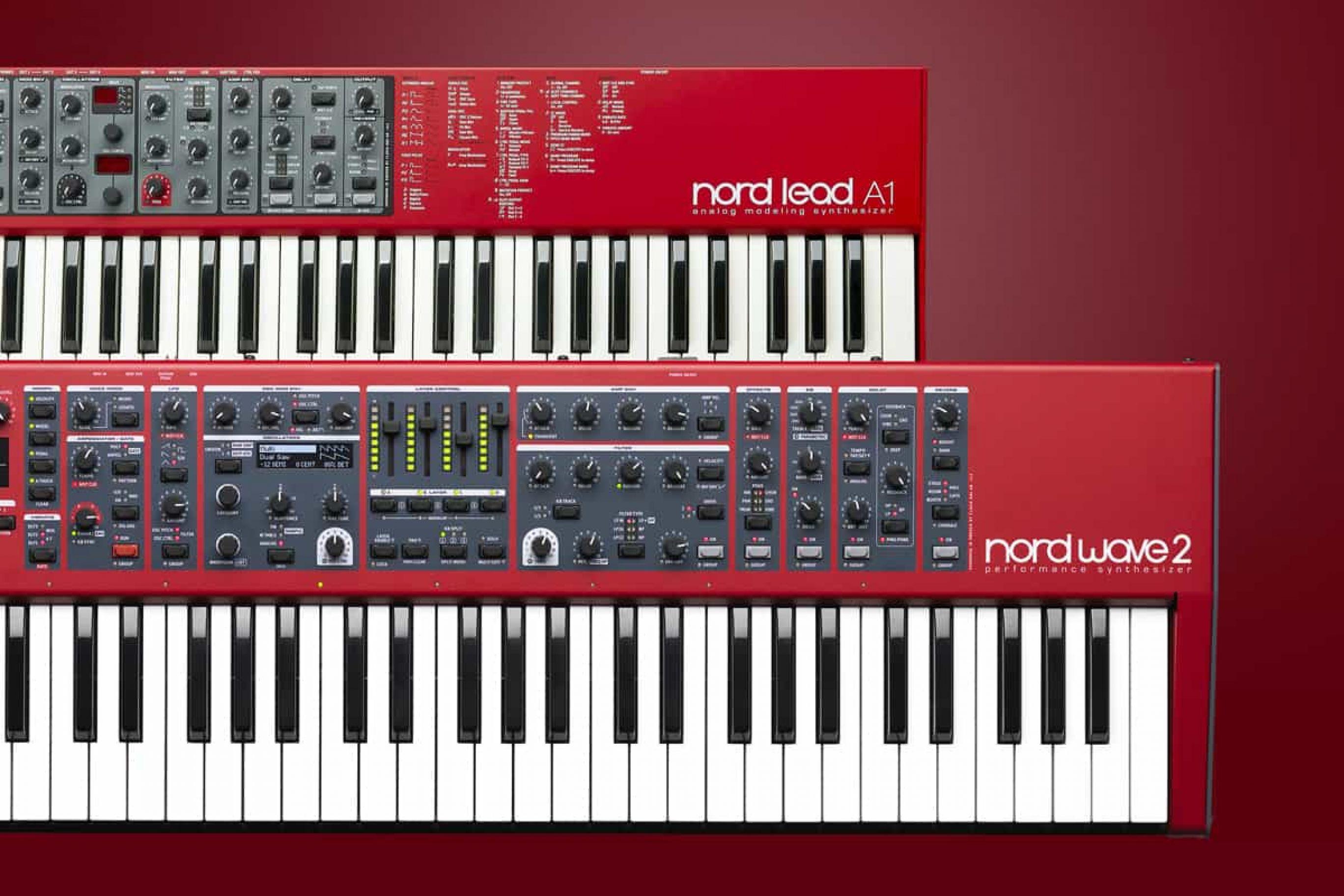 Migliori sintetizzatori: Nord Lead A1 e Nord Wave2, recensione e prezzi
