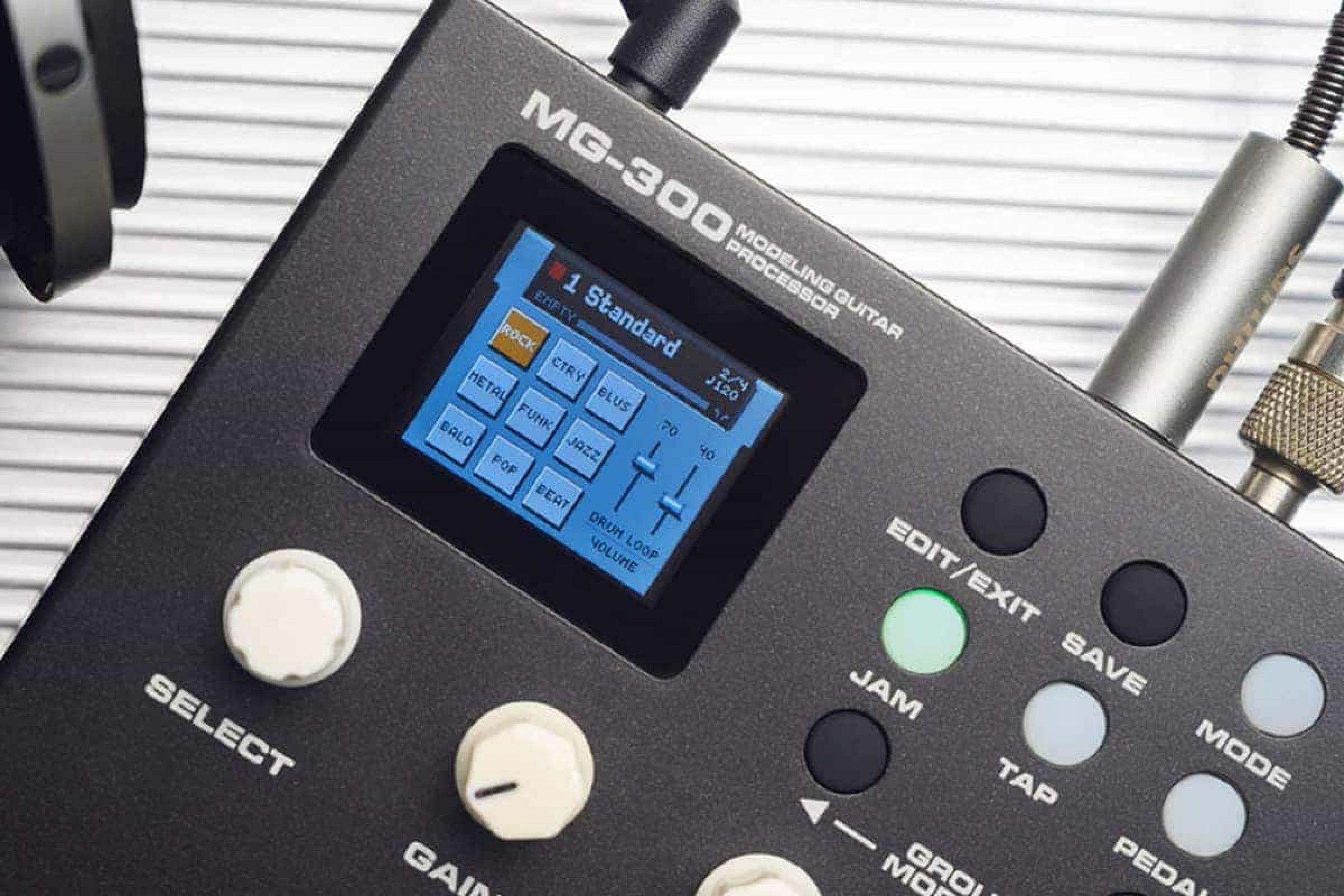 NUX MG 300: multieffetto per chitarra elettrica anche per professionisti