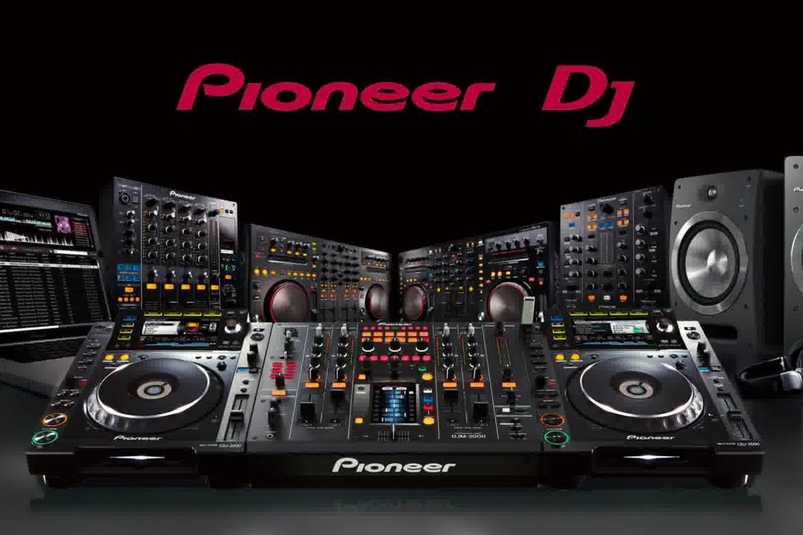 Consolle Pioneer per DJ