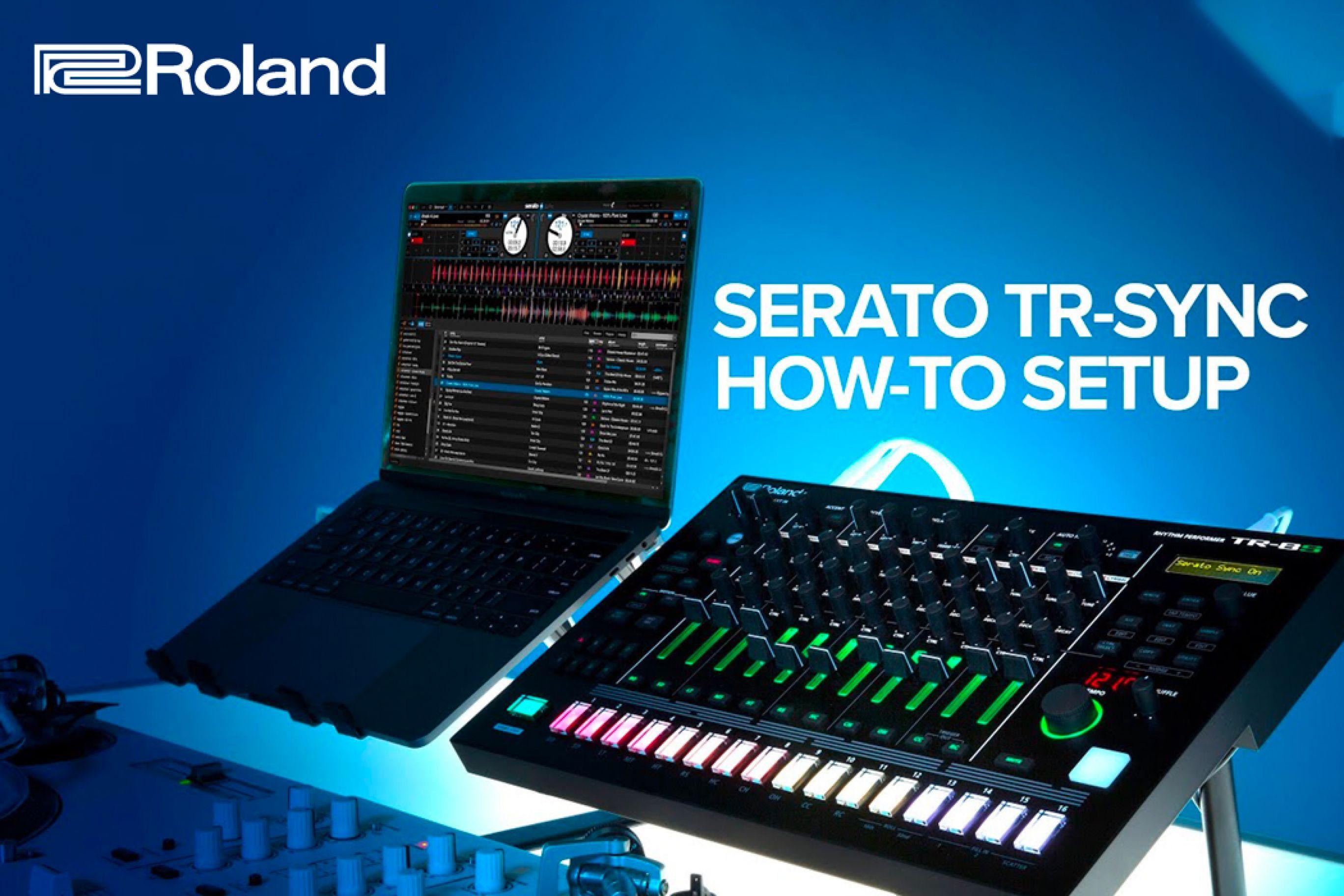 Roland Drum Machine TR da oggi si Sincronizzano con Serato Dj Pro