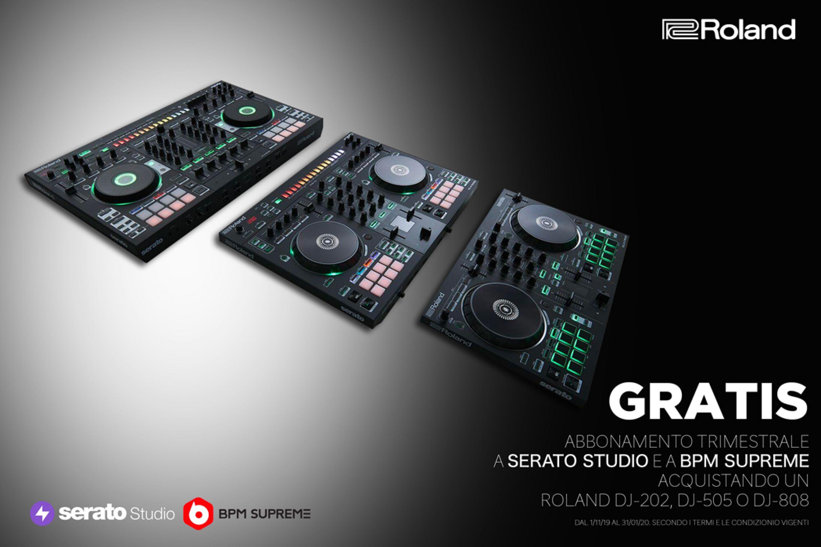 Promozione Roland DJ-258