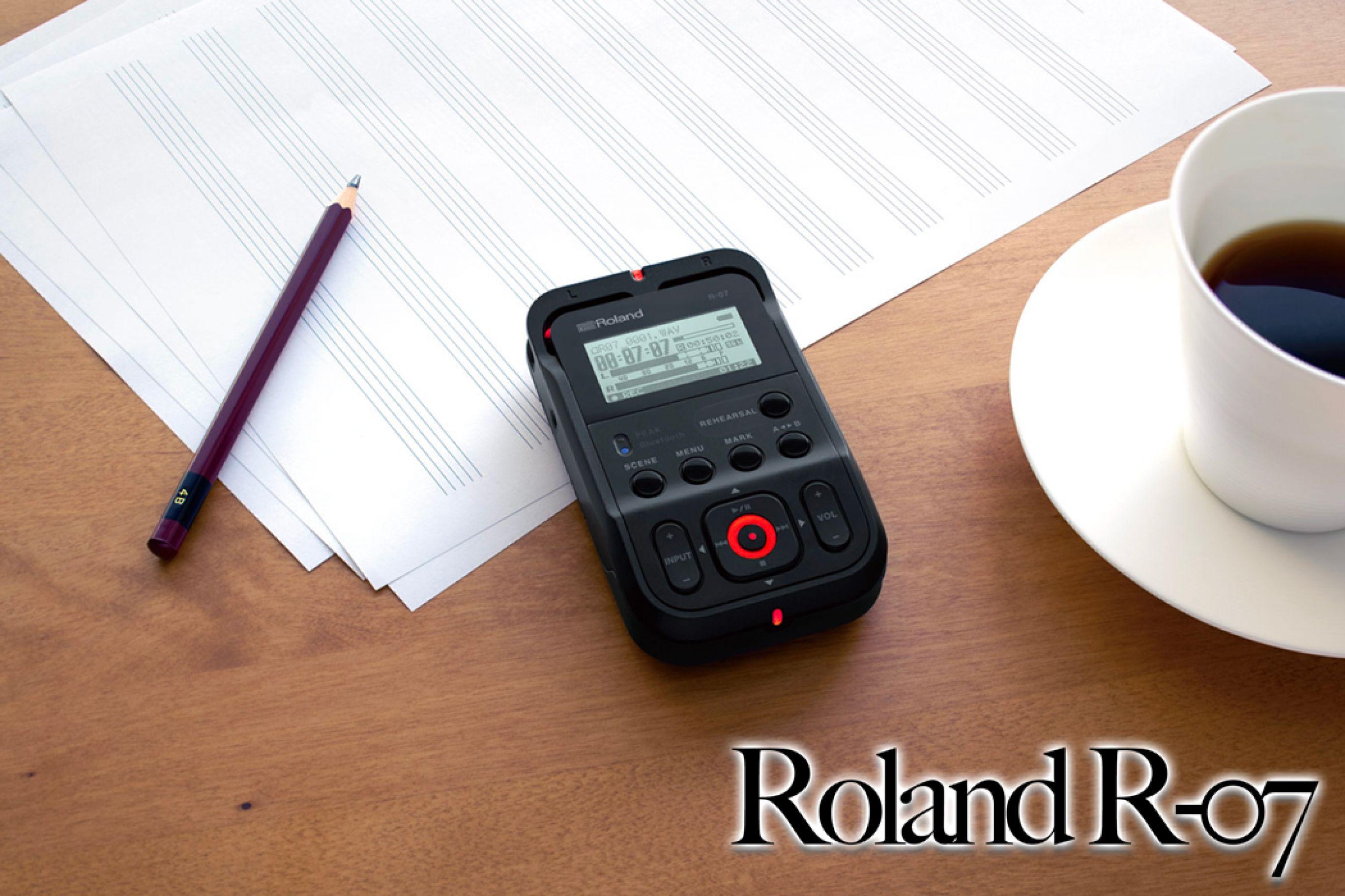 6 Buoni Motivi per Scegliere il Registratore Portatile Roland R-07