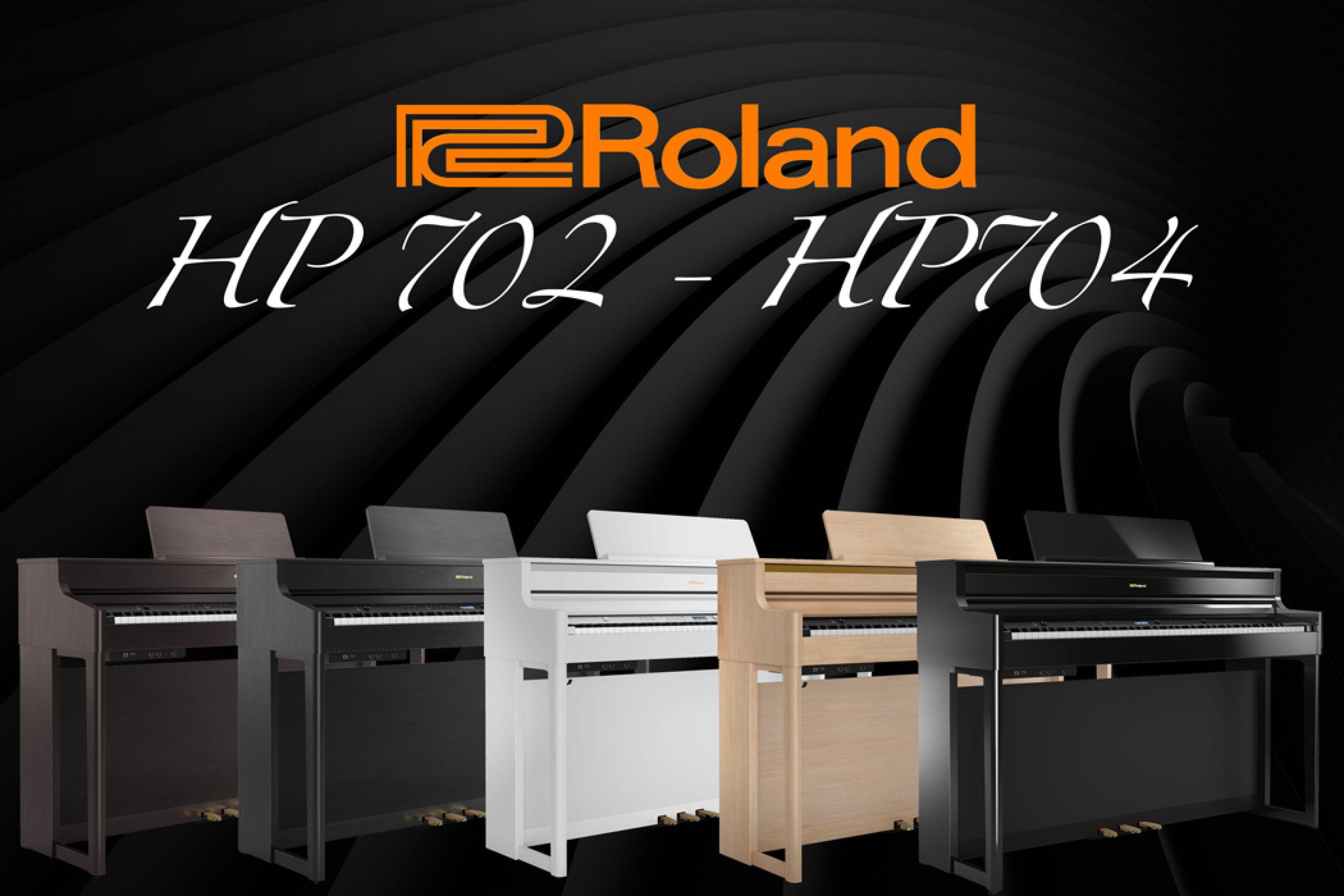 Roland HP702 e HP704: Pianoforti creati per emozionare