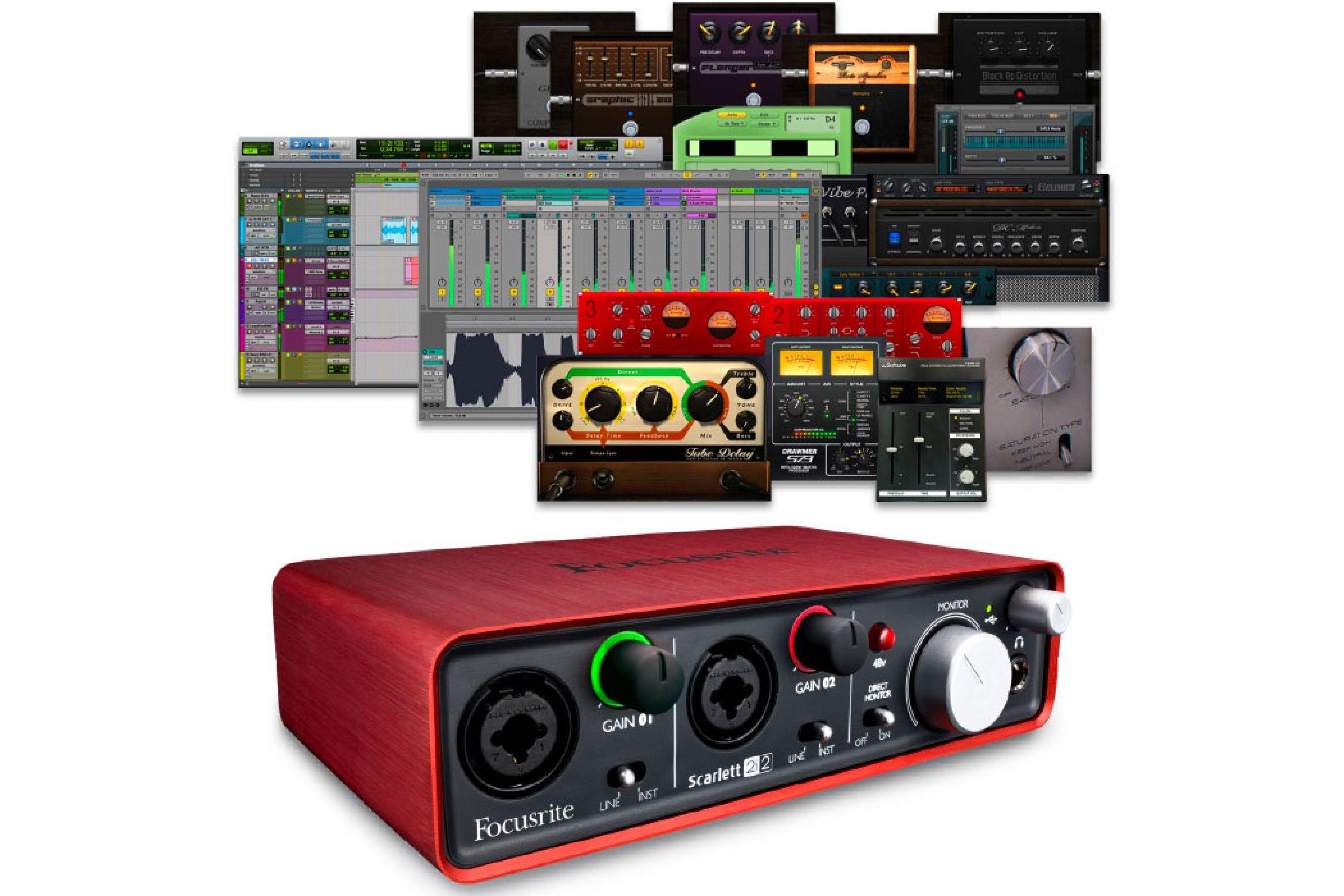 Schede audio Focusrite Scarlett: quale scegliere? Prezzi e recensioni