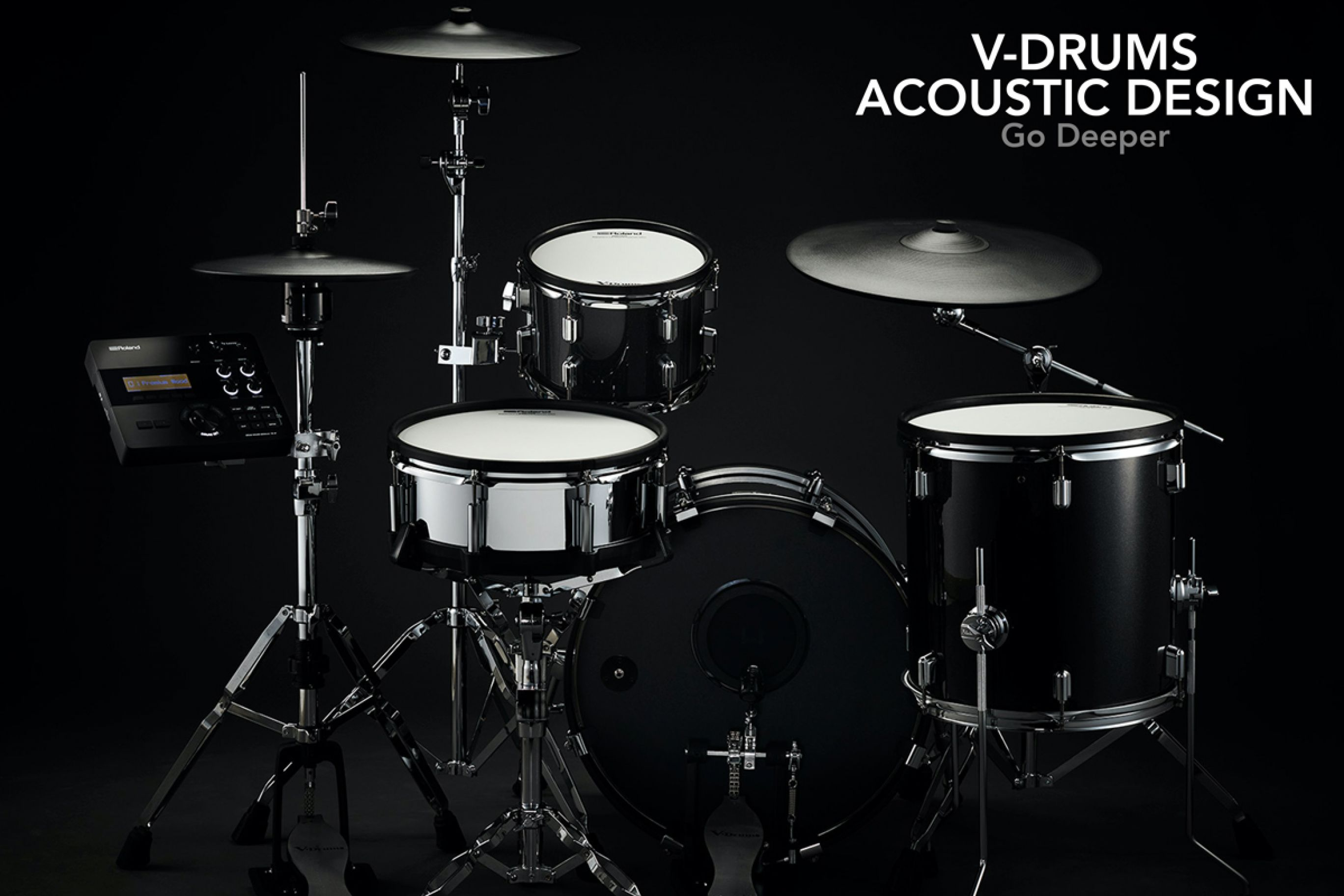 V-Drums Acoustic Design: L' elettronica Glamour firmata Roland