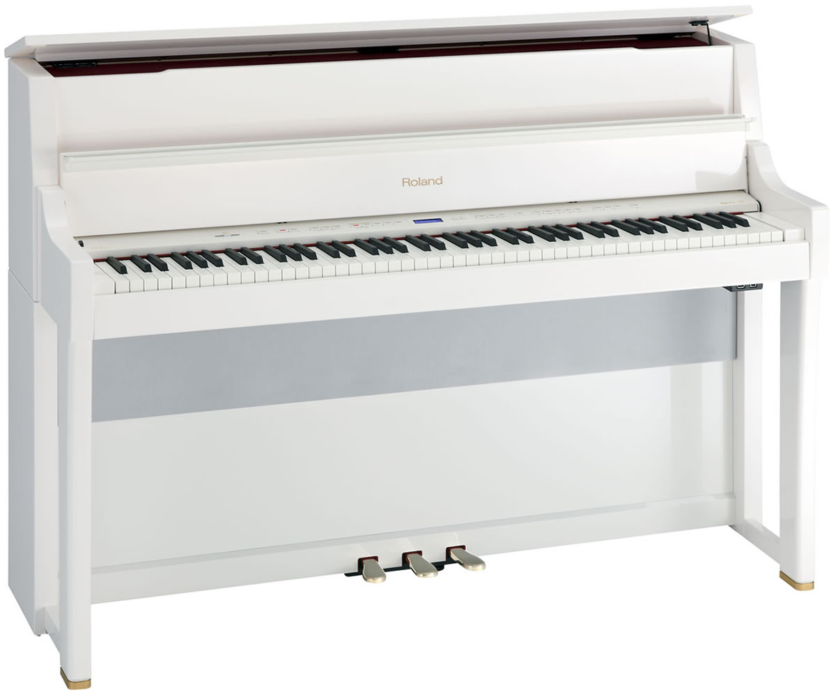 ROLAND LX15 PW - PIANOFORTE VERTICALE DIGITALE 88 - Musical Store 2005