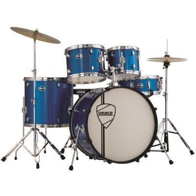 Peace batteria vulcanian metallic blu