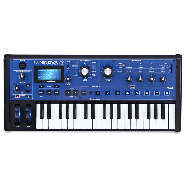 Novation MiniNova - Synth Polifonico Digitale 37 Tasti MIDI/USB Vocaltune Vocoder00
