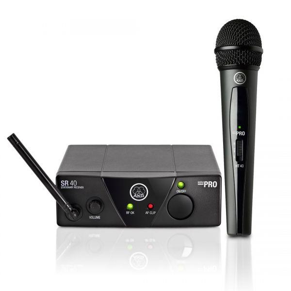 AKG WMS 40 Mini Vocal Set - Radiomicrofono Palmare
