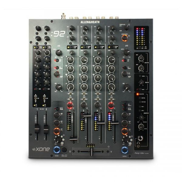 Allen & Heath Xone:92 Black - Mixer Professionale per DJ