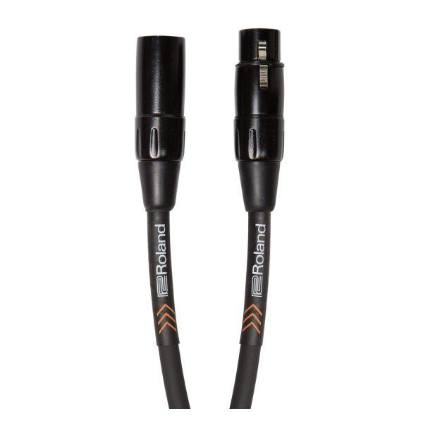 ROLAND Cavo Microfonico Serie Black XLR/XLR 1mt