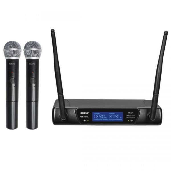 KARMA - SET 6092A - Doppio radiomicrofono VHF