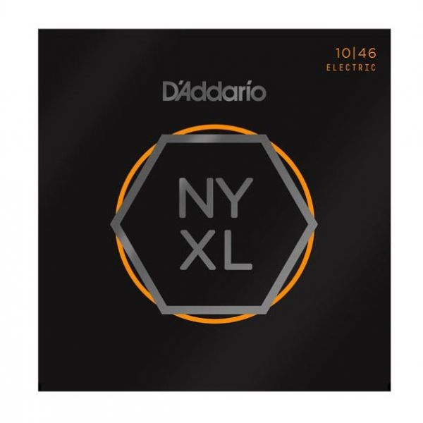 D'ADDARIO NYXL1046 - Muta per Elettrica Regular Light (010/046)