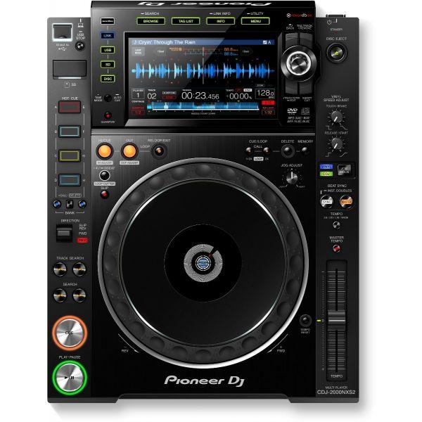 Pioneer cdj2000nxs front