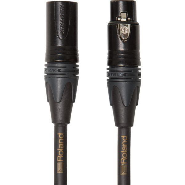 ROLAND Cavo Microfonico Quad Serie Gold XLR/XLR 15mt