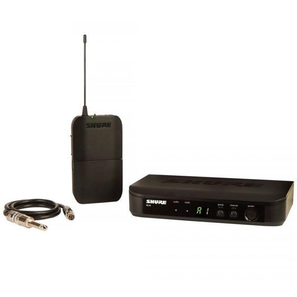 Shure BLX14E M17 - Sistema Wireless Trasmettitore e Ricevitore per Chitarra / Basso