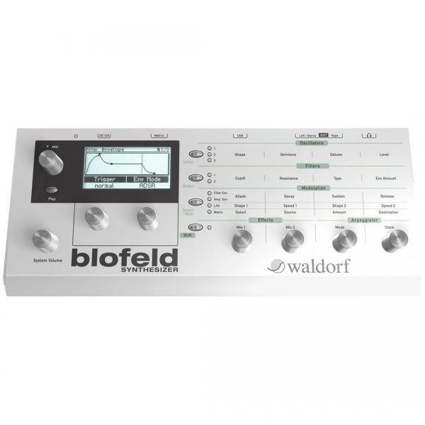 Waldorf Blofeld White - Sintetizzatore Modulare Digitale