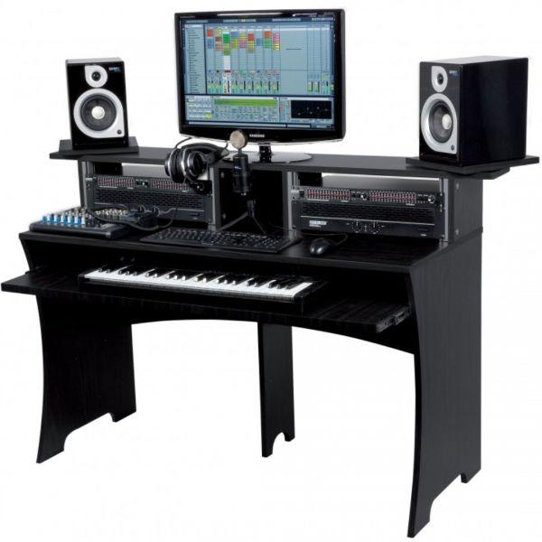 Glorious Workbench Black - Console di Lavoro Compatta
