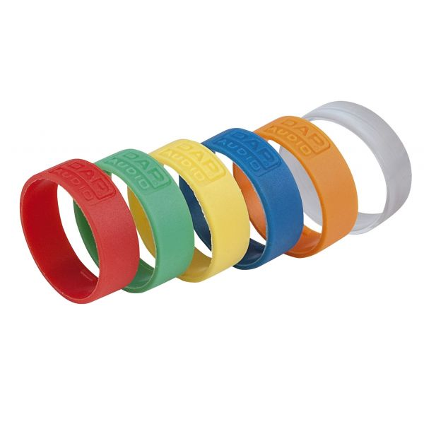 DAP-Audio - Ring for X-type XLR Connector - Arancione