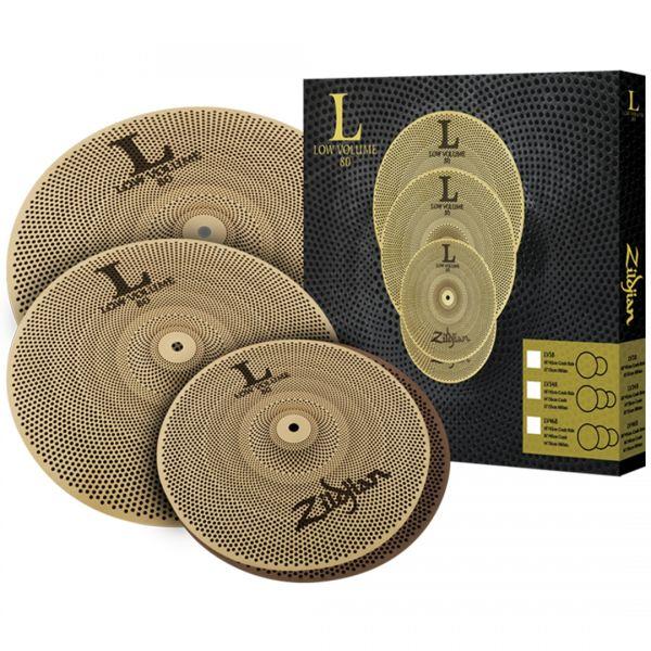 Zildjian Set Piatti Batteria Acustica L80 Low Volume LV468