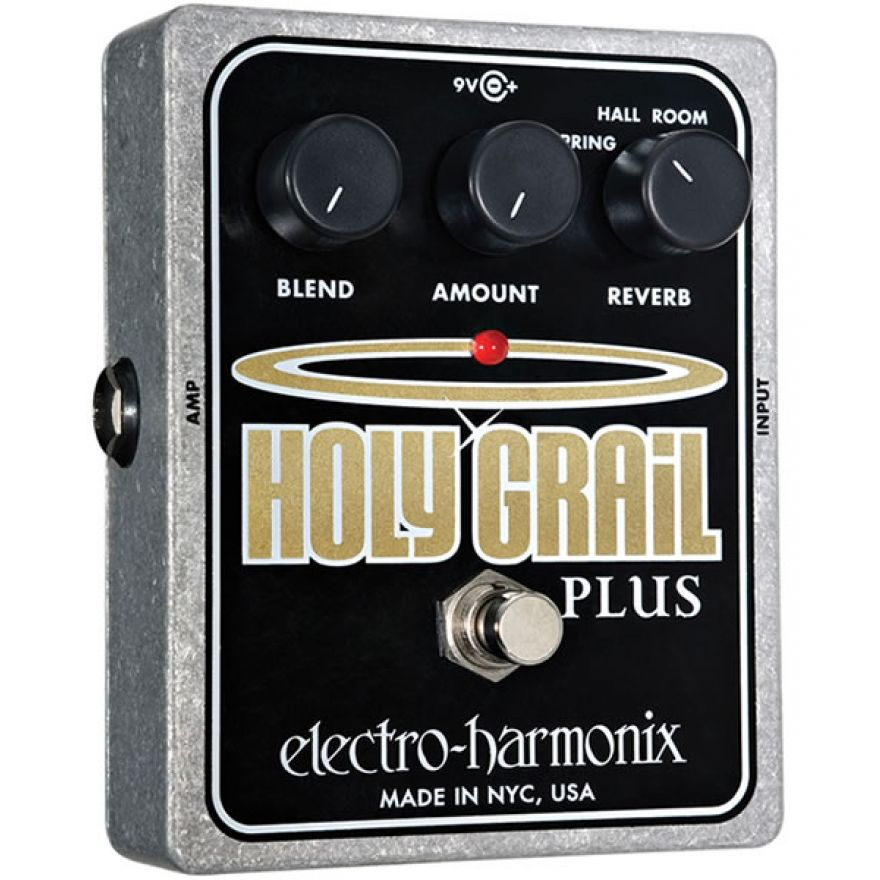 ELECTRO HARMONIX HOLY GRAIL Plus - PEDALE RIVERBERO
