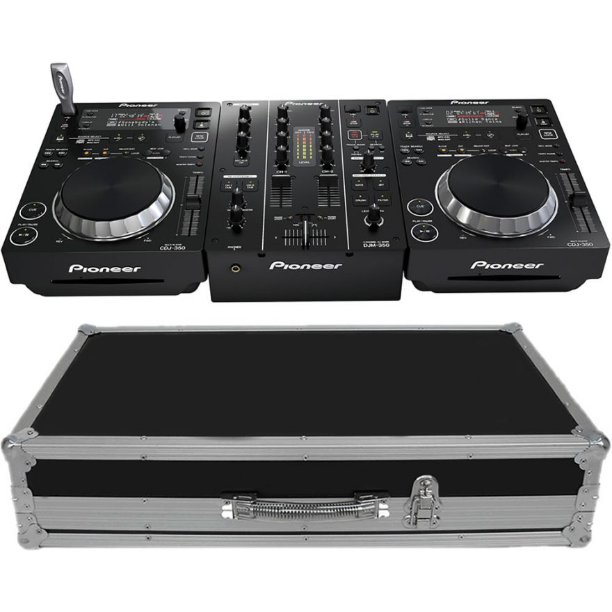 0-PIONEER CDJ350 + DJM350 +