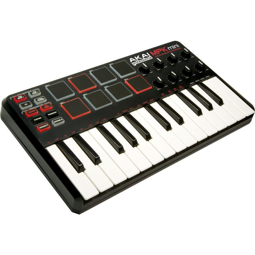 AKAI MPK MINI - Tastiera mini USB MIDI