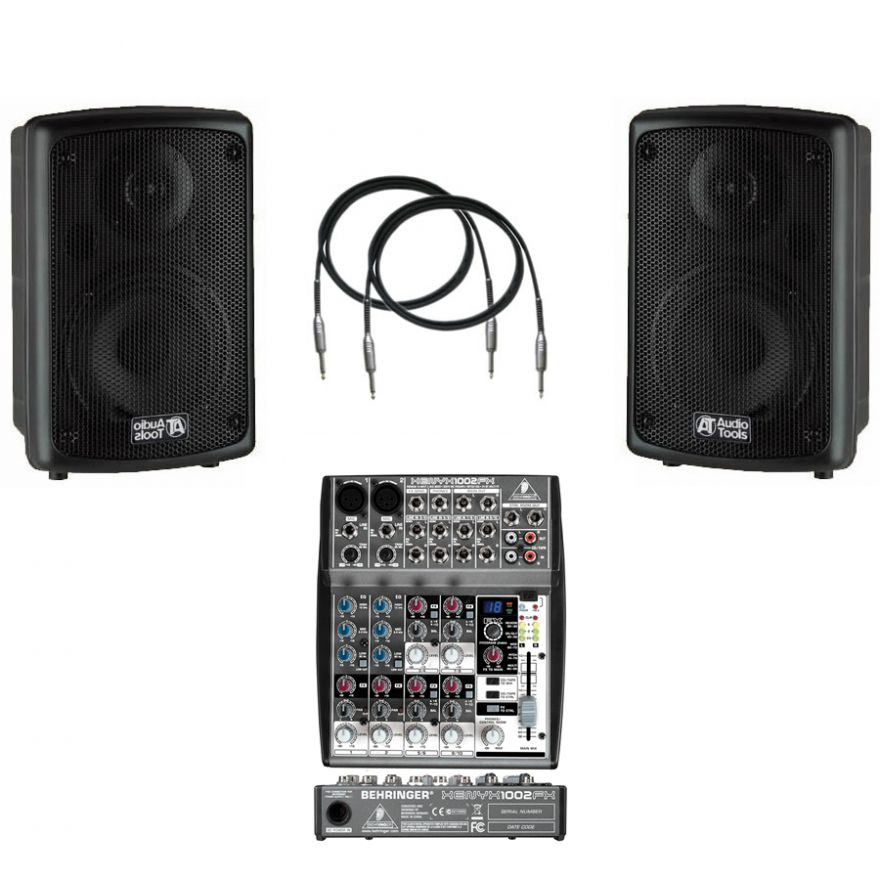 AUDIO TOOLS Bundle (2pz)AS62A + Behringer XENYX 1002FX + Cavi